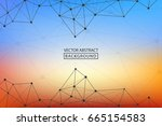 background lines.  abstract... | Shutterstock .eps vector #665154583