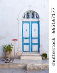 Small photo of Door threshold in Mahdia, Tunisia