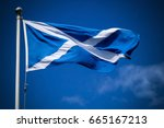 Scotland Flag Flying In...