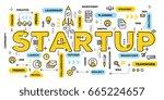 vector creative illustration of ...   Shutterstock .eps vector #665224657