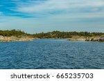 the archipelago sea is the eden ... | Shutterstock . vector #665235703