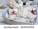 wedding favors | Shutterstock . vector #665452903