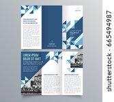 brochure design  brochure... | Shutterstock .eps vector #665494987