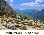Ruins Of Apollo Temple In...