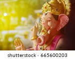 lord ganesha | Shutterstock . vector #665600203