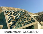 views of the king abdullah... | Shutterstock . vector #665600347