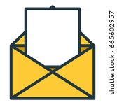 paper document isolated icon