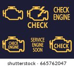 check engine | Shutterstock .eps vector #665762047