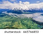 Small photo of Aerial photos, aerial images of Alaska