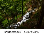 A Small Waterfall In The...