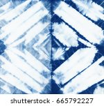abstract batik tie dyed fabric...   Shutterstock . vector #665792227
