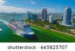 usa. florida. miami beach. june ... | Shutterstock . vector #665825707