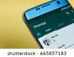 new york  usa   june 23  2017 ...   Shutterstock . vector #665857183