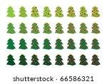 vector illustration christmas... | Shutterstock .eps vector #66586321