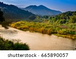 Quiet River Have Mountain And ...