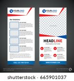dl flyer design template. dl... | Shutterstock .eps vector #665901037