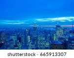 new york   december 20  2013 ... | Shutterstock . vector #665913307