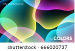vector color background.... | Shutterstock .eps vector #666020737