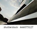 modern architecture in hamburg  ... | Shutterstock . vector #666075127