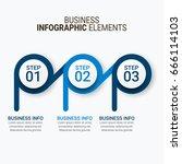 modern infographics vectors... | Shutterstock .eps vector #666114103