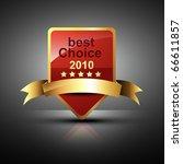 vector red label stylish vector   Shutterstock .eps vector #66611857
