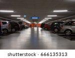 underground parking in delft ... | Shutterstock . vector #666135313