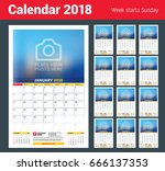 vector calendar planner...   Shutterstock .eps vector #666137353