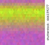 colorful abstract vector... | Shutterstock .eps vector #666159277