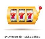 slot machine | Shutterstock .eps vector #666165583