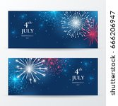 vector set of banners for... | Shutterstock .eps vector #666206947