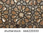 mother of pearl inlay | Shutterstock . vector #666220333