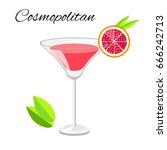 popular cosmopolitan cocktail