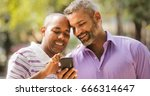 homosexual couple  gay people ... | Shutterstock . vector #666314647