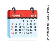 calendar for 2018 year. full...