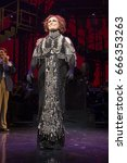 Small photo of New York, NY USA - June 25, 2017: Glenn Close on stage of Palace theater during Sunset Boulevard last performance on Broadway curtain call