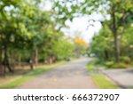 abstract blur city park bokeh... | Shutterstock . vector #666372907