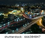 bangkok train station known as... | Shutterstock . vector #666384847