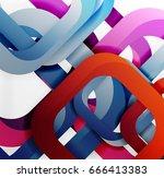 square vector background  3d... | Shutterstock .eps vector #666413383