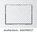 vector frames. rectangles for... | Shutterstock .eps vector #666458317