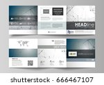 set of business templates for... | Shutterstock .eps vector #666467107