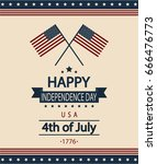 happy independence day card or