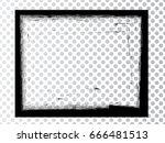 vector frames. rectangles for... | Shutterstock .eps vector #666481513