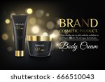 luxury black cosmetic templates ... | Shutterstock .eps vector #666510043