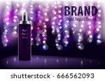 cosmetic moisturizing brand... | Shutterstock .eps vector #666562093