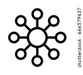 network | Shutterstock .eps vector #666579637