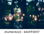 blured background of summer...   Shutterstock . vector #666593047