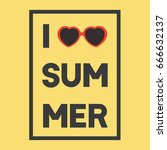 summer backgrounds collection.... | Shutterstock .eps vector #666632137