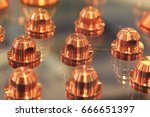 group copper lugs for machines... | Shutterstock . vector #666651397