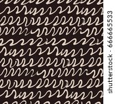 vector tie dye seamless pattern.... | Shutterstock .eps vector #666665533