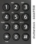 The Telephone Keyboard Of...